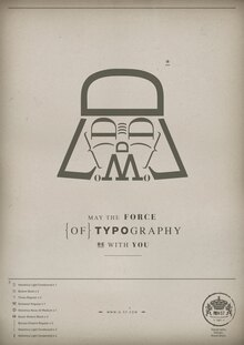 The Force of Typography