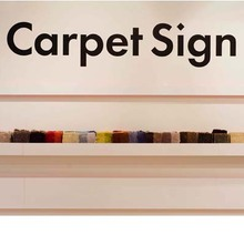 Carpet Sign