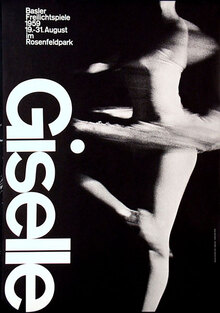 Giselle Poster, Basel Stadt Theater