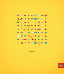 Lego Crosswords Ad Campaign