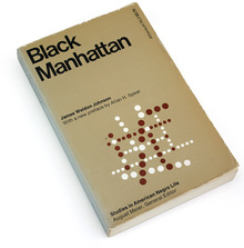 Black Manhattan book cover