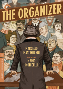 """""""The Organizer"""" Criterion DVD Cover"""