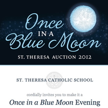 St. Theresa Catholic School email invitation