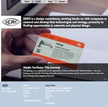 BERG website