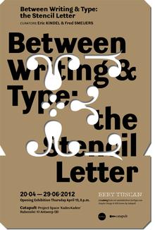Exhibition Between Writing & Type