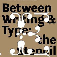Exhibition Between Writing & Type