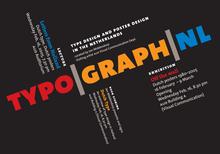 Typo|Graph|NL Poster