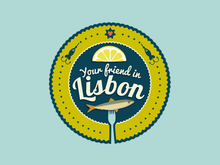 Your Friend in Lisbon logos