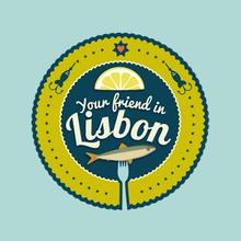 Your Friend in Lisbon logos