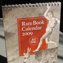 42-line 2009 Rare Book Calendar