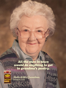 "Crosby's Fancy Molasses: ""Bake it like Grandma"""