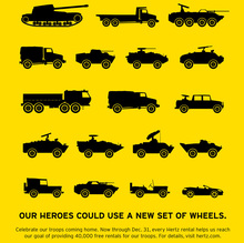 Hertz for Heroes