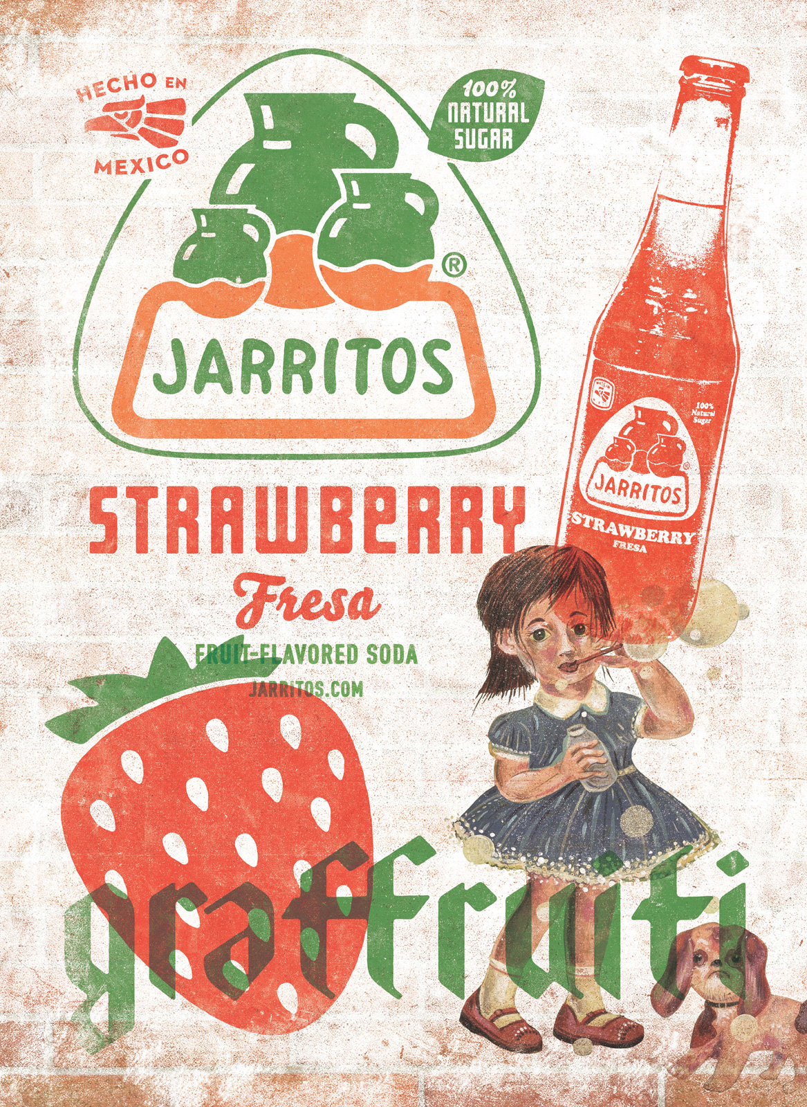 Jarritos fonts in use for Ahora mexican cuisine