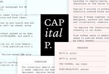 Capital P