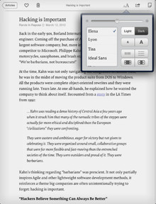 Instapaper iOS App