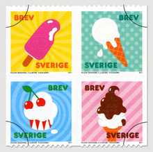 Sweden Summer Stamps