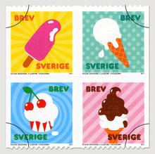 Sweden Summer Stamps