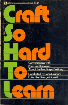 <i>Craft so Hard to Learn</i> book cover