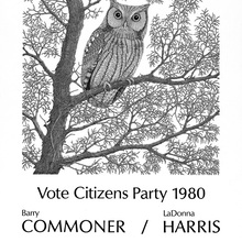 Vote Citizens Party 1980