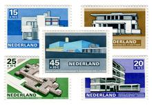 Modern Dutch Architecture Stamps (1969)