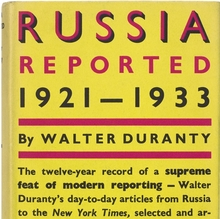 Russia Reported: 1921–1933
