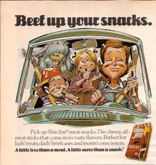 1970s Slim Jim ads