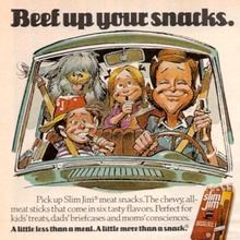 1970s Slim Jim ads