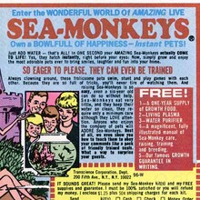 Sea-Monkeys ad