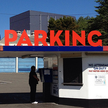 Space Needle Public Parking