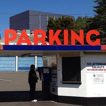 Space Needle Public Parking