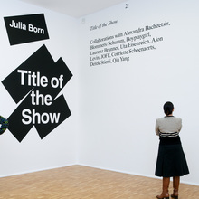 Julia Born: Title of the Show