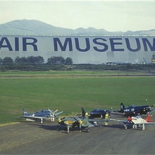 Tillamook Air Museum (World's Largest Helvetica)