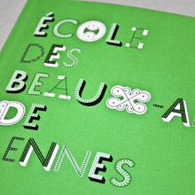 Rennes School of Art catalogue