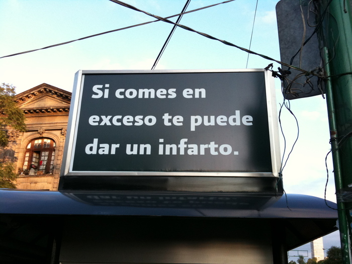 Over-eating sign in DF.JPG