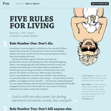 <i>Fray</i> Issue 3: Sex & Death