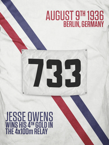 Jesse Owens Wins His 4th Gold