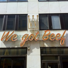 We got Beef nightclub