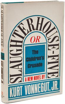 """Slaughterhouse Five"" book cover"