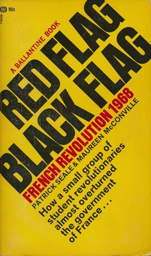 """Red Flag Black Flag: French Revolution 1968"" book cover"