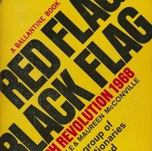 """""""Red Flag Black Flag: French Revolution 1968"""" book cover"""