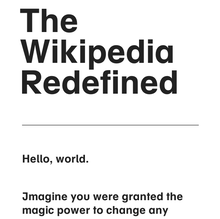 Wikipedia Redefined