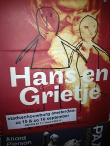 Hans en Grietje poster