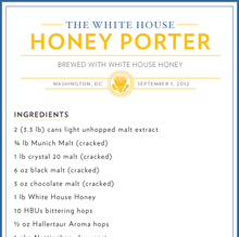 The White House Beer Recipes