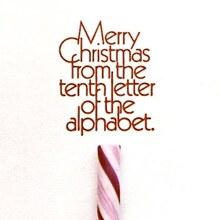 Alex Jay Christmas Card, 1977