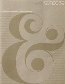 <i>Sense</i> Magazine, No. 59