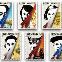 Dutch–Indonesian themed stamps
