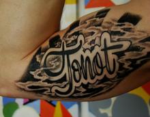 """""""Tonot"""" tattoo"""