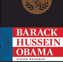 <cite>Barack Hussein Obama</cite> book cover