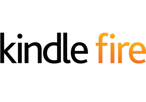 Amazon Kindle logo and marketing - Fonts In Use