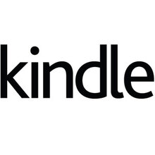 Amazon Kindle logo and marketing